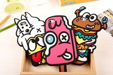 """3D Funny Cartoon Food Silicone Cute Soft Case Cover for iPhone 6 4.7"""" 6 plus 5S"""
