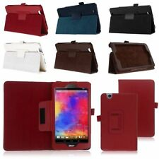 Luxury Folio Flip PU Leather Case Cover Stand for Acer Iconia One 7 B1-750 Tab