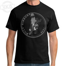 ZZ TOP , Billy Gibbons , Rev Willie G  Coin  T shirt by V.K.G.