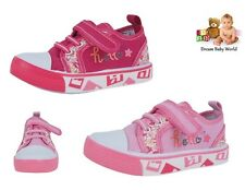 Canvas girls shoes / trainers in 2 colours! Size UK 8 - 12 NEW - GIRLS