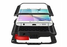 Aluminum Metal Dirt Shockproof Powerful Case Cover For Samsung Galaxy S6 S6 Edge