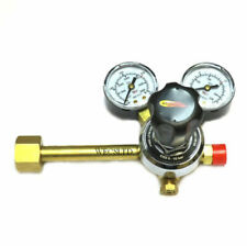 Single Stage 2 Gauge Co2 Mig Welding Regulator, Optional Adaptor Pub Gas Bottles