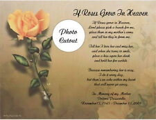 Personalized Memorial Poem For Loss of Mother, Wife, Husband, Daughter