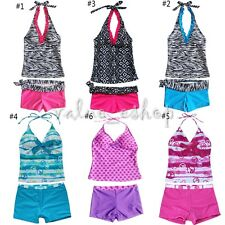 KIDS GIRLS BEACH POOL SWIMSUIT SWIMMING COSTUME / BIKINI / TANKINI EACHWEAR