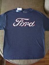 Ford Motor Company Vintage Distressed Logo T Shirt_ Licensed_Brand New with tags