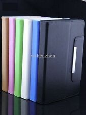 """Premium Quality Leather Stand Case Flip Cover For 7"""" inch Tab with Various Model"""