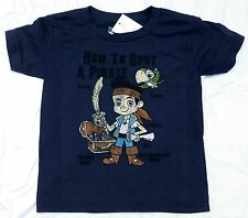 Disney Jake and the Neverland Pirates Navy Spot a Pirate Infant Toddler T-Shirt