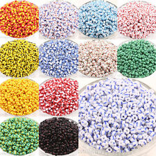 Hot Selling 100Pcs Czech Glass Seed Loose Spacer Beads Jewelry Making DIY 4x3mm