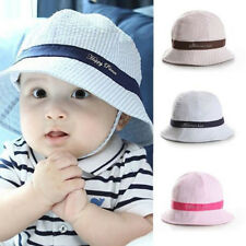 Fashion Toddler Infant Beach Hat Sun Cap Baby Girl Boys Beach Bucket Hat Cute