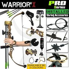 BRAND NEW 40-60LBS APEX WARRIOR'X COMPOUND BOW OUTBACK CAMO ARCHERY HUNTING