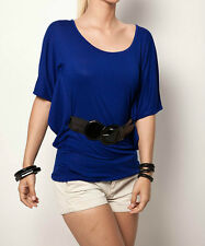 Jane Norman Blue Belted Top. Brand New. Sizes 6, 10, 12, 14