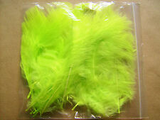 20 MARABOU FEATHER PACK IN A CHOICE OF COLOURS- FLYTYING - CARD MAKING ETC