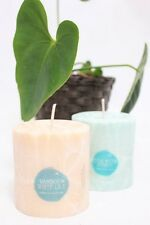 Aussie Handmade Palm Wax Candle 50hrs 4 x Exquisite Aromatics. RELAX.inspire.cha