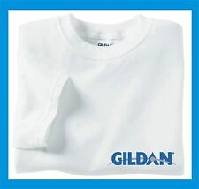 50 NEW MENS Wholesale Plain Gildan 100% Cotton White Adult T-Shirts S M L XL