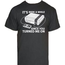 It's Been A While Nintendo T-Shirt-Funny Humorous Novelty Shirt-NEW-S-XXXL