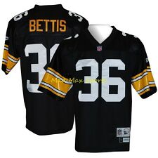 JEROME BETTIS Pittsburgh STEELERS Home REEBOK Premier THROWBACK Jersey Sz S-2XL