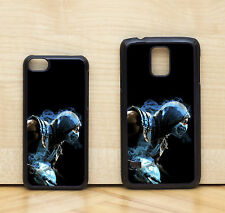 Sub Zero Mortal Kombat X Game Character Glossy Case Cover for iPhone & Samsung
