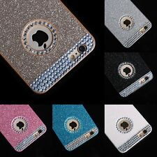 Glitter Bling Sparkle Crystal Rhinestone Case Cover Skin for iPhone 5s 6 /6 Plus