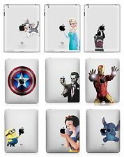 2 Pack Princess Mavel Hero Apple Ipad 1 2 3 4 Removable Skin Vinyl Decal Sticker