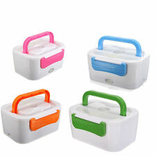 Portable 1.5L Electric Heated Portable Compact Food Warmer Lunch Box Bento Box