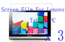 3 Glossy Matte LCD Screen Film Cover Protector Shiled Skin FOR Lenovo Tablet PC