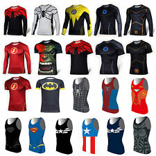 Marvel Superhero Casual Comics Costume Cycling Tee T-Shirts Bicycle Sport Jersey