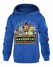 Official Five Nights at Freddys PART OF THE SHOW HOODY Freddies Hoodies Age 5-15