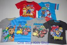 PAW PATROL Toddler Boys 2T 3T 4T 5T Short Sleeve Tee SHIRT Top Rocky Chase