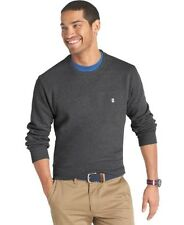 Izod Big and Tall Basic Crew-Neck Fleece Msrp $60 Size XLT, 2XLT, 3XLT, 5XLT New