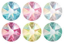 Genuine SWAROVSKI 2058 & 2088 Flat Backs Crystals * Many Colors with Effects