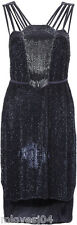 French Connection Jardanna Beading Nocturnal Dress Harrods Exclusive BNWT 12 16