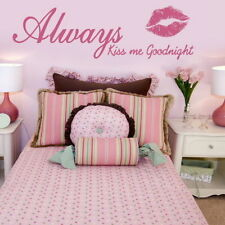 Bedroom Wall Quote Removable interior wall stickers home bed room art decor qu77