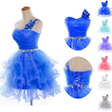 Short/Mini Cocktail Dress Party Homecoming Formal Bridesmaid Prom Dresses  BLUE+