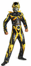 New Transformers Bumblebee  Muscle Boys Costume Disguise 73518 Costumania
