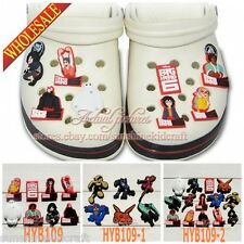 Big Hero 6 PVC SHOE CHARMS For Fit Croc & Bands Bracelet and Gifts