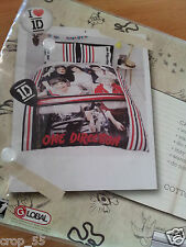 ONE DIRECTION Quilt Cover Set - single, cover and pillow case, licensed
