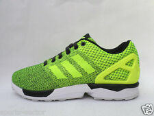 adidas Originals ZX Flux Weave Mens Trainers Shoes Yellow/Black