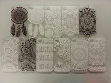 Henna Tribal Flower Damask Elephant Hard Case Cover for iPhone 4 4s 5 5s 5c 6 +