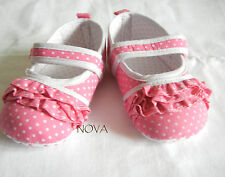 pink dot princess bow shoes toddler shoes baby girl shoes US size3