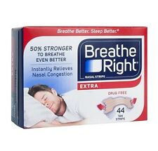 Breathe Right EXTRA Nasal Strips Reduce Snoring  44 Count