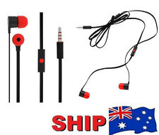 Earbud Earpiece + Mic Headphone Handsfree Headset for HTC Mobile Phone Series