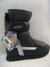 NIB Khombu ADVENTURER Winter Snow Boots BLACK Silver Size 6 $128