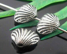Wholesale 30/65Pcs Tibetan Silver(Lead-Free)Heart Spacer Beads Findings 10x6mm