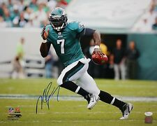 Michael Vick Autographed 16x20 Running With Ball Photo- JSA Authenticated