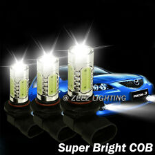 High Power LED COB Bulb w/ Projector Fog Driving Light Daytime Running Lamp DRL