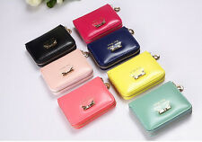 Lady Women Fashion Cute Purse Clutch Wallet Short Small Bag PU Card Holder New