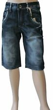 Shorts Million X Jungen Jeans blau Gr. 128 134 140 146 152 158 164 170 176