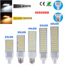 New E27 G24 3528 5050 SMD LED Spot Corn Light downlight Bulb Lamp Warm Day White