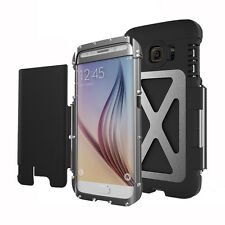 Aluminum Metal Shockproof Case Cover Armor King For Samsung Galaxy S6 S6 edge