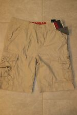 """New Men's Unionbay """"Mateo"""" Cargo Shorts Camo Blue or Beige 34 or 38"""